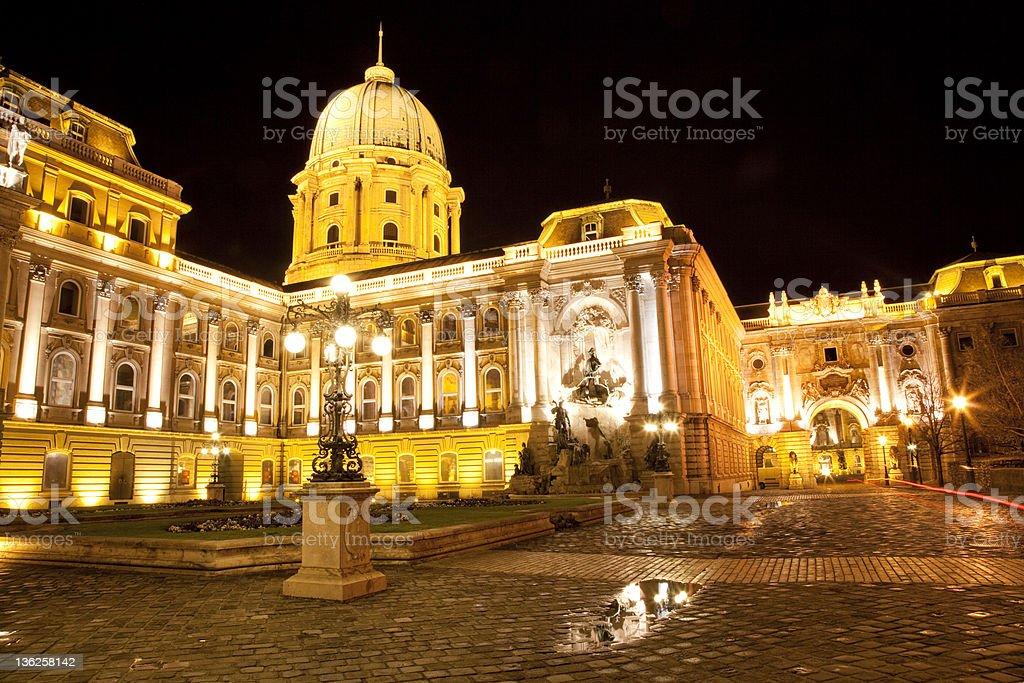 Budapest - Buda Castle royalty-free stock photo