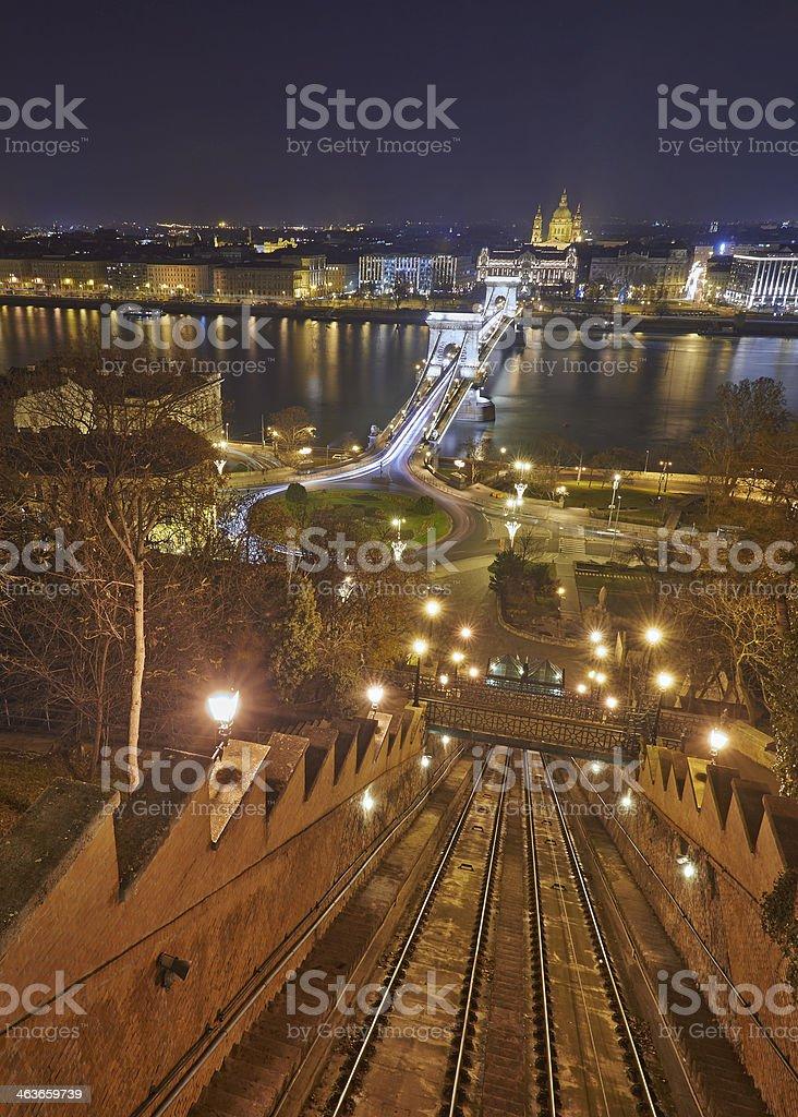 Budapest, capital city of Hungary royalty-free stock photo