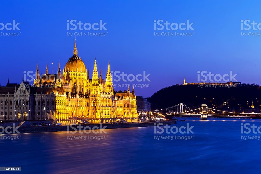 Budapest Cityscape royalty-free stock photo