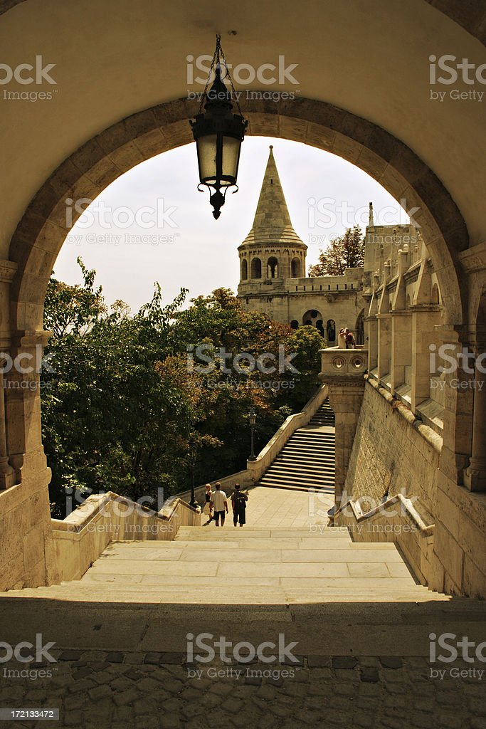 Budapest Fisher's Bastion royalty-free stock photo
