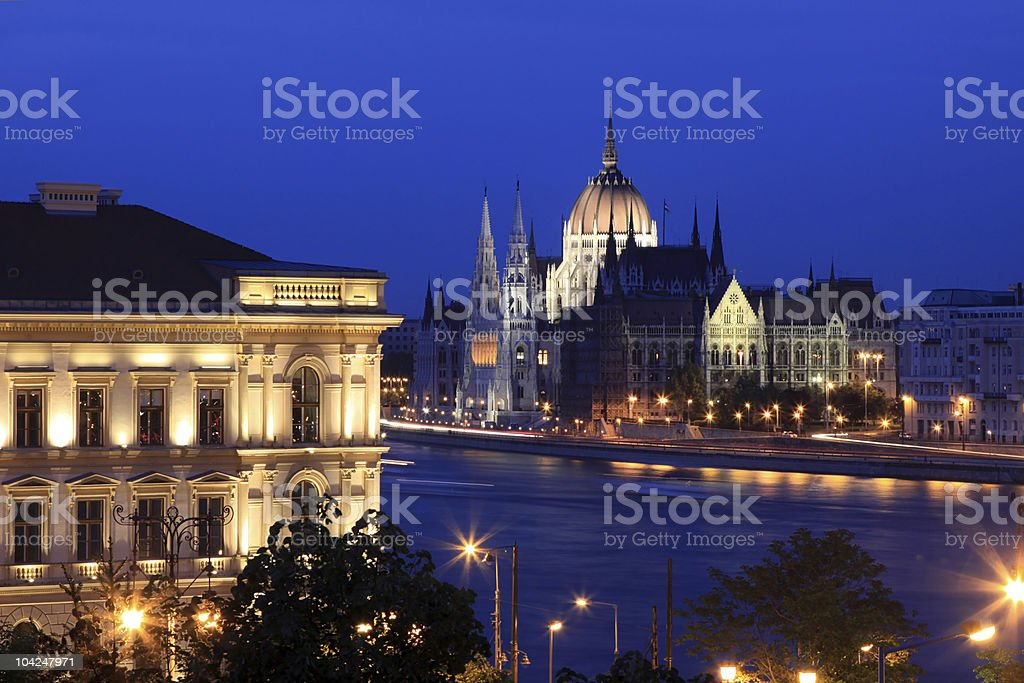 Budapest, House of Parliament royalty-free stock photo
