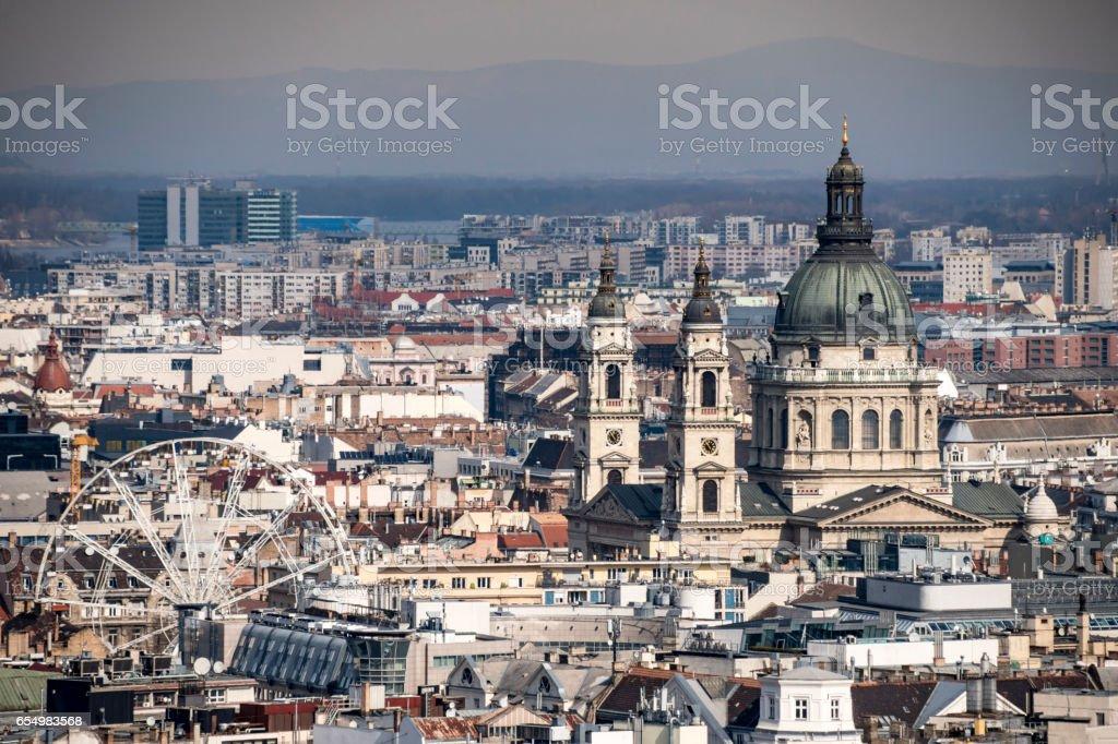 Budapest, Hungary City Skyline stock photo