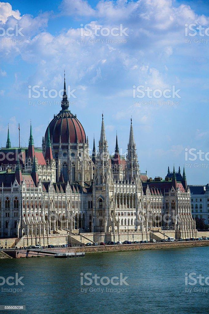 Budapest, Hungary, hungarian parliament stock photo