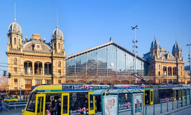 Budapest, Ungarn, Nyugati Bahnhof (