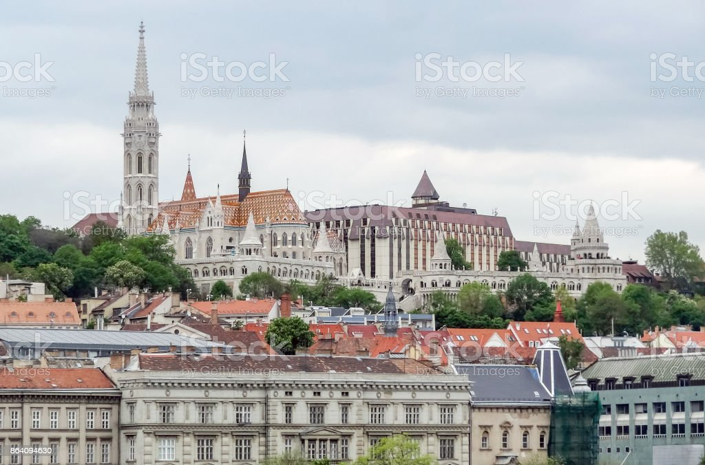 Budapest in Hungary royalty-free stock photo