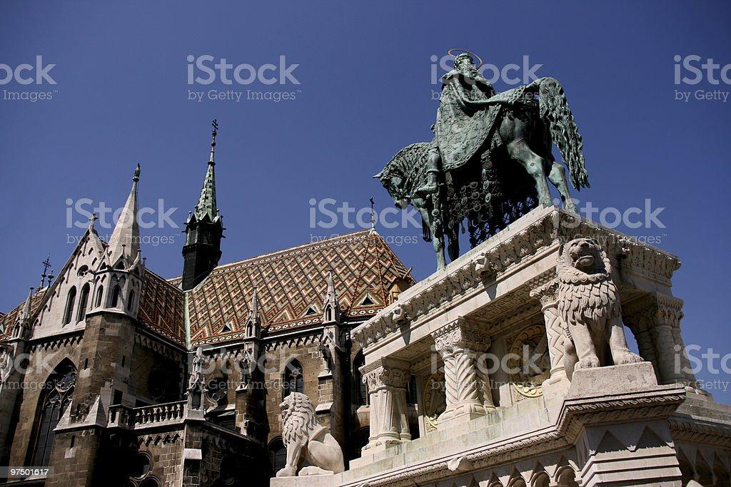 Budapest landmarks royalty-free stock photo