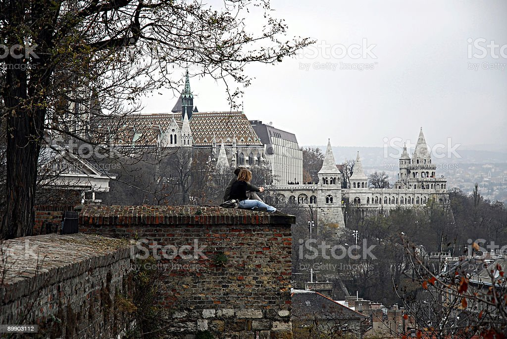 Budapest -  Mathias Churc royalty-free stock photo