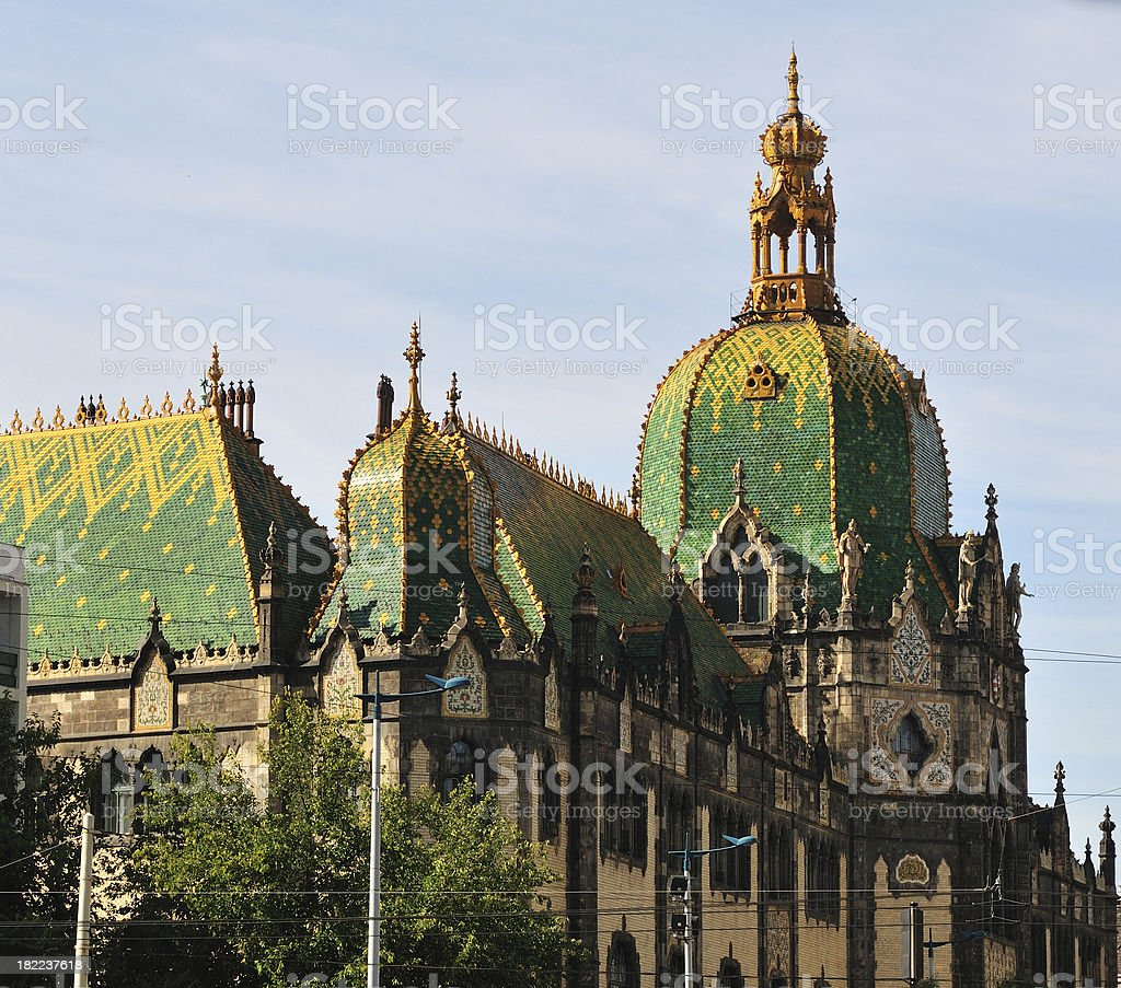 Budapest museum royalty-free stock photo