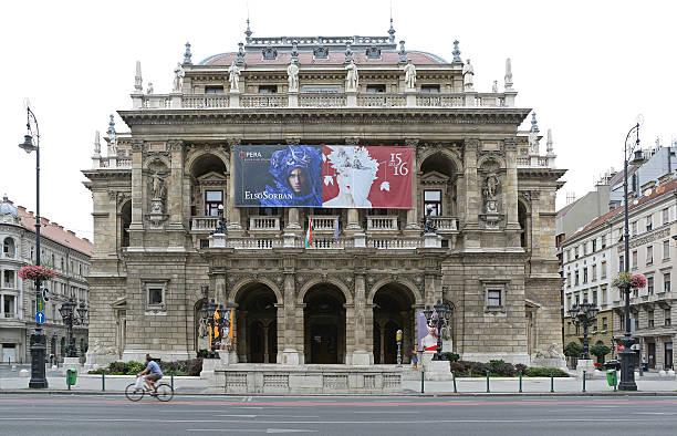 budapest opera house - 匈牙利文化 個照片及圖片檔