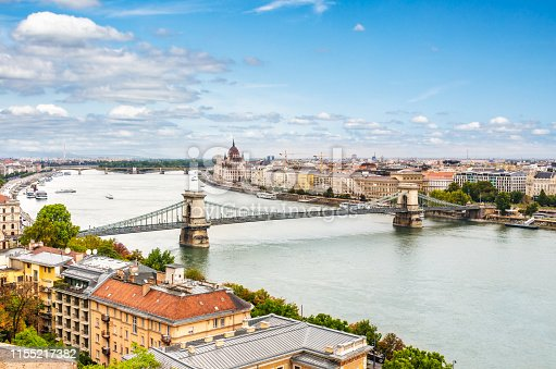 Budapest - the capital of Hungary - popular tourist destinations.