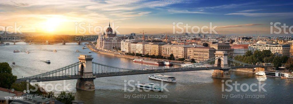 Budapest-Panorama-Blick – Foto