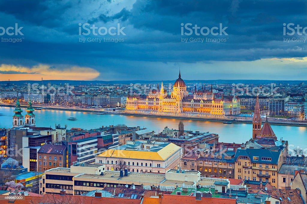 Budapest. stock photo