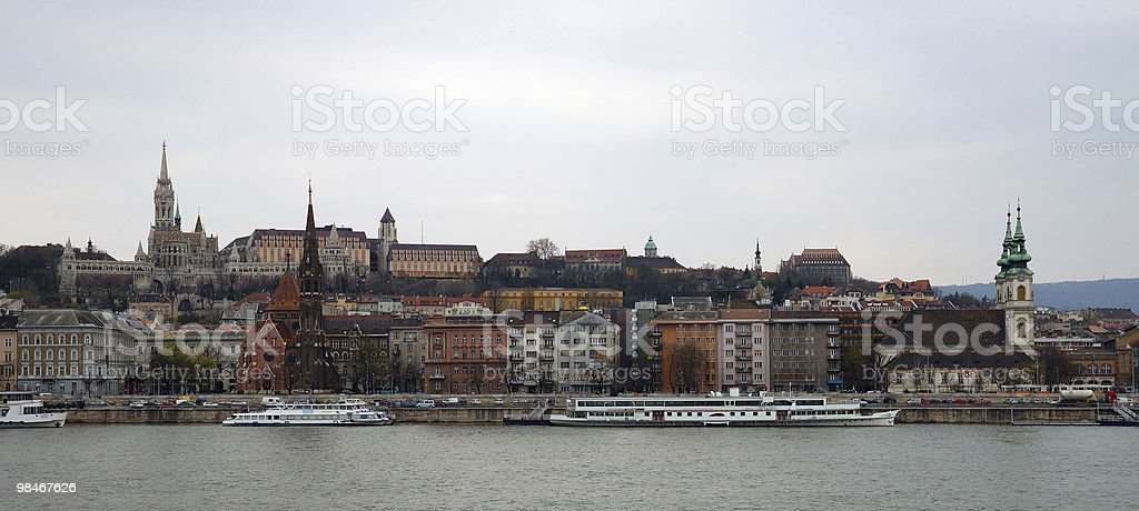 Budapest (Buda) royalty-free stock photo