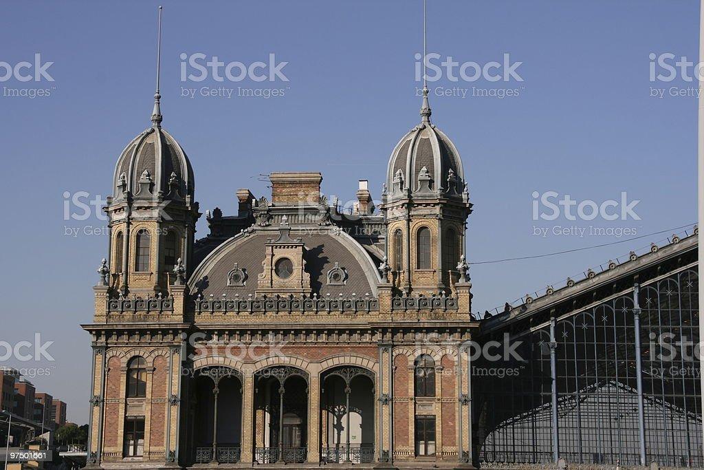 Budapest railway station royalty-free stock photo