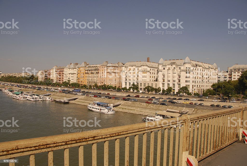 Budapest Riverscape royalty-free stock photo