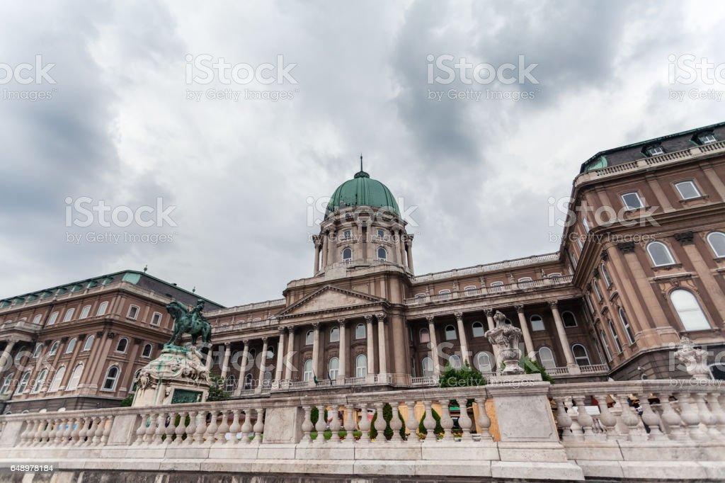 Budapest Royal Castle. Hungary. stock photo