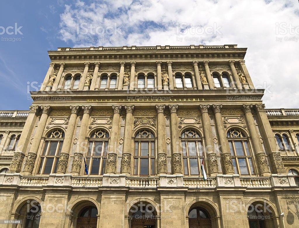 Budapest University Building royalty-free stock photo