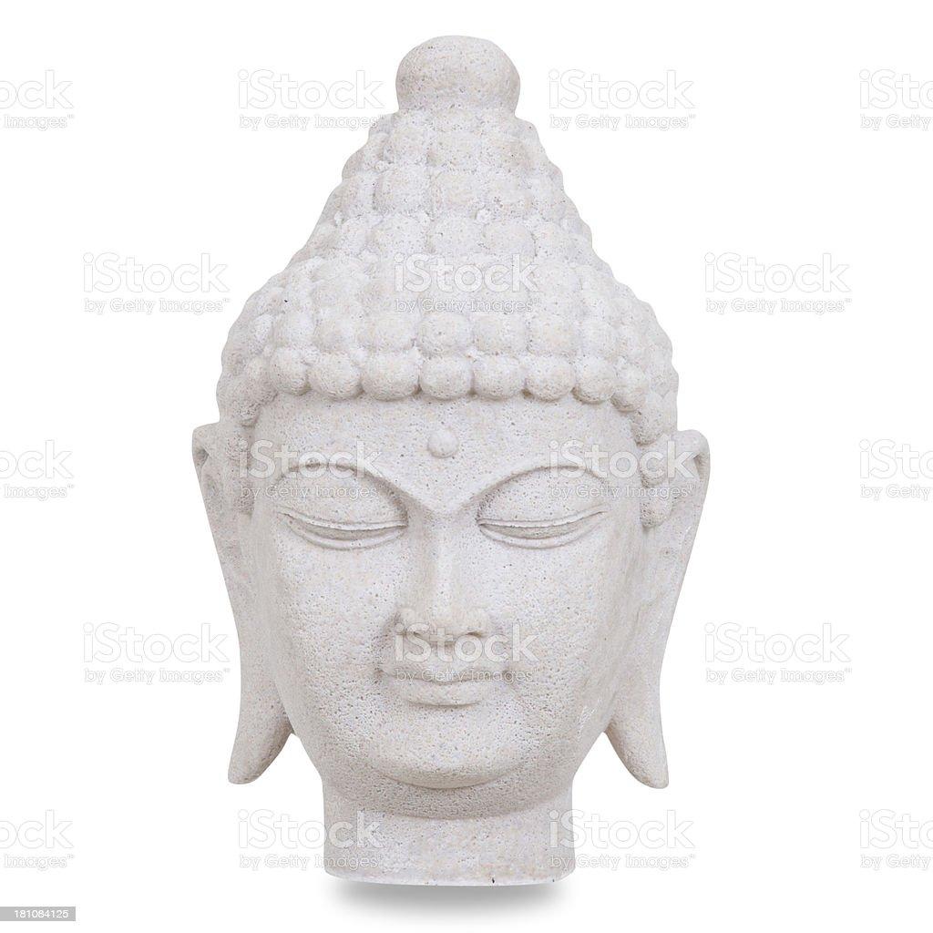 Budda Figurine Isolated stock photo