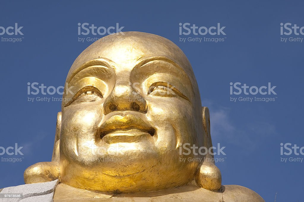 Budda head royalty-free stock photo