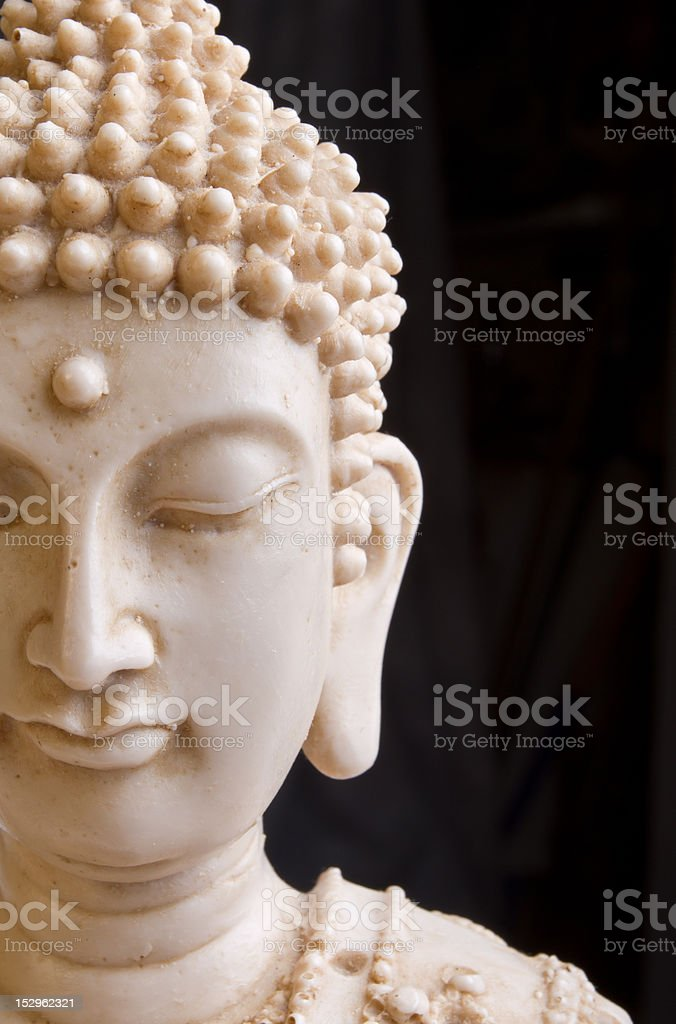 Buddah Face royalty-free stock photo
