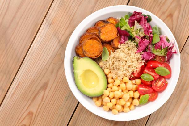 buddha bowl,vegetarian meal - Photo