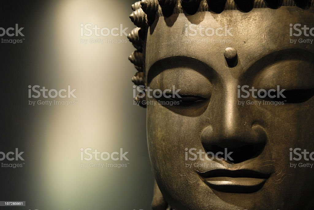 Buddha Close Up royalty-free stock photo
