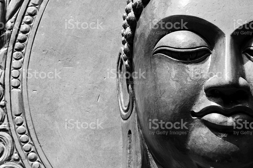 Buddha close up portrait royalty-free stock photo