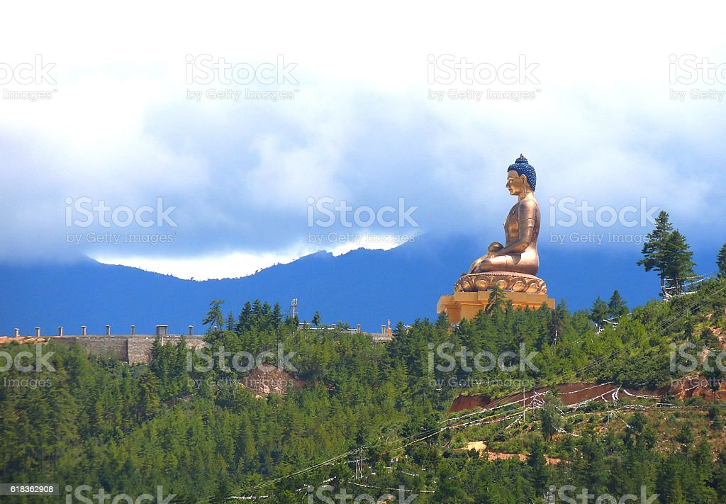 Buddha Dordenma Statue stock photo