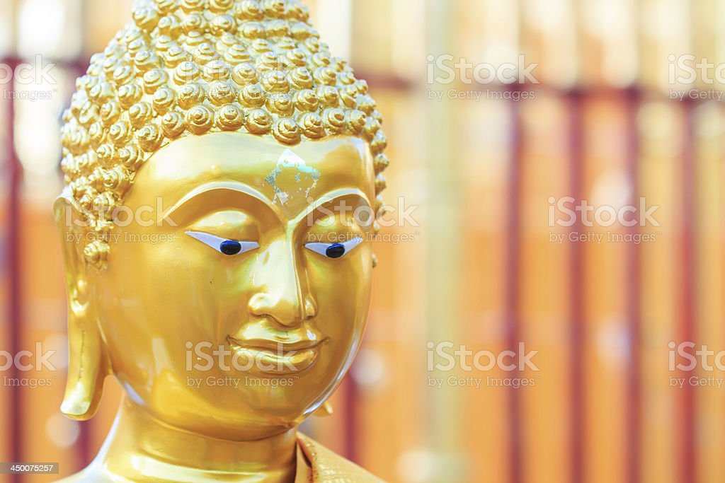Buddha face royalty-free stock photo