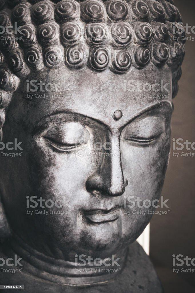 Buddha face zbiór zdjęć royalty-free