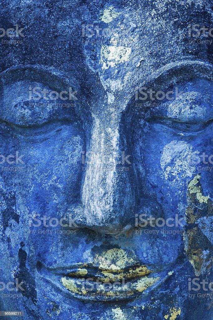 Buddha Gesicht, Sukhothai, Thailand. – Foto