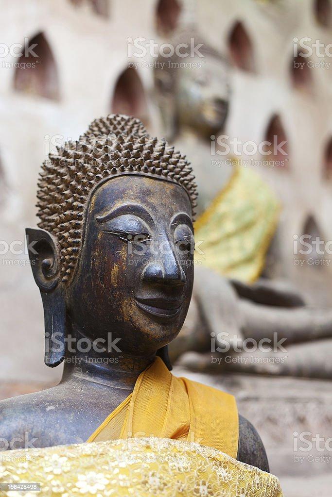 Buddha From Laos stock photo