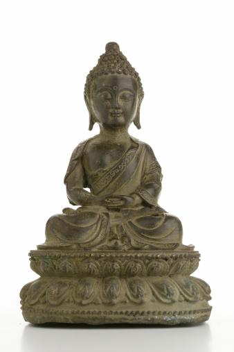 buddha on white