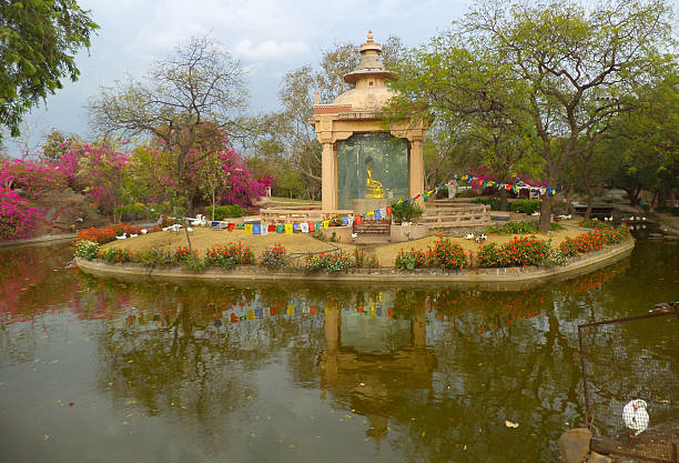 34 Buddha Garden New Delhi India Stock Photos Pictures Royalty Free Images Istock