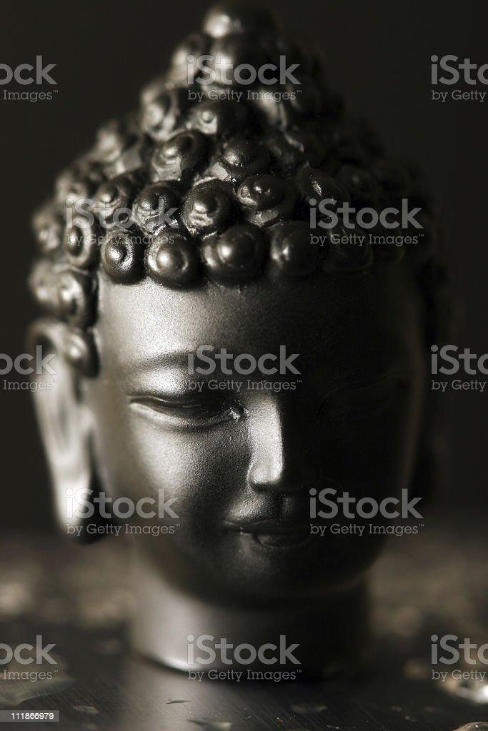 Buddha Head stock photo
