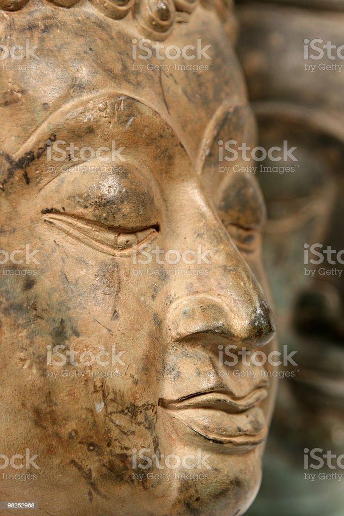 Buddha Head royalty-free stock photo