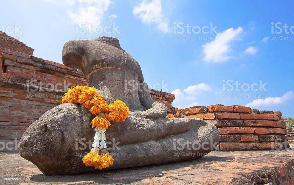 Buddha image in Thailand, royalty-free stock photo