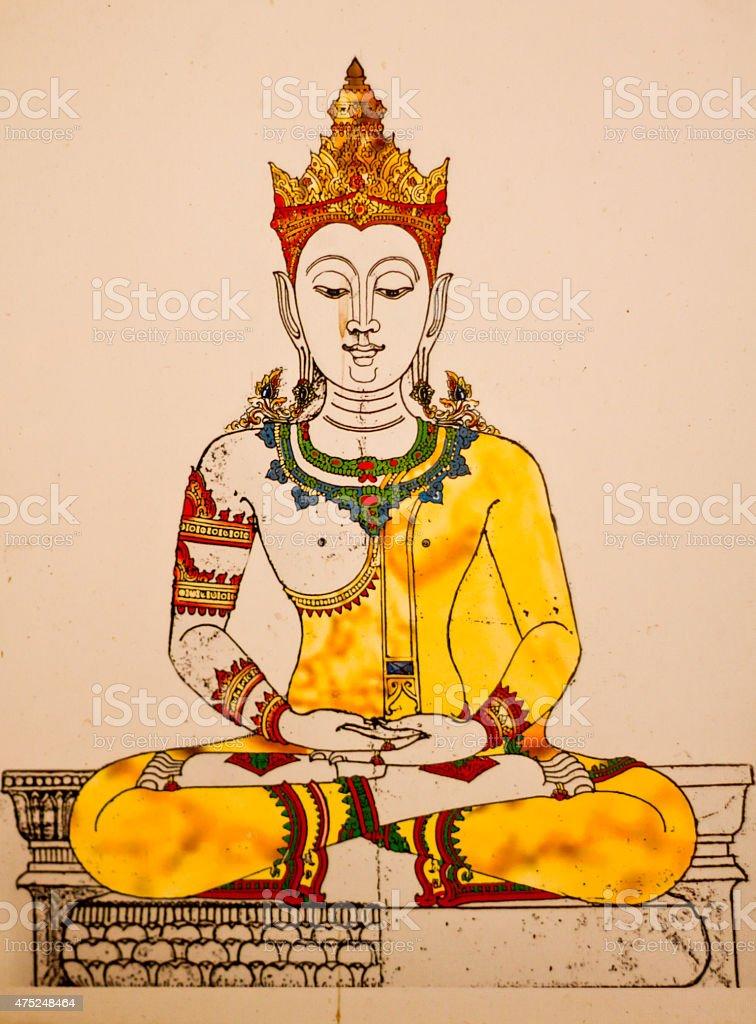 Buddha Bild – Foto