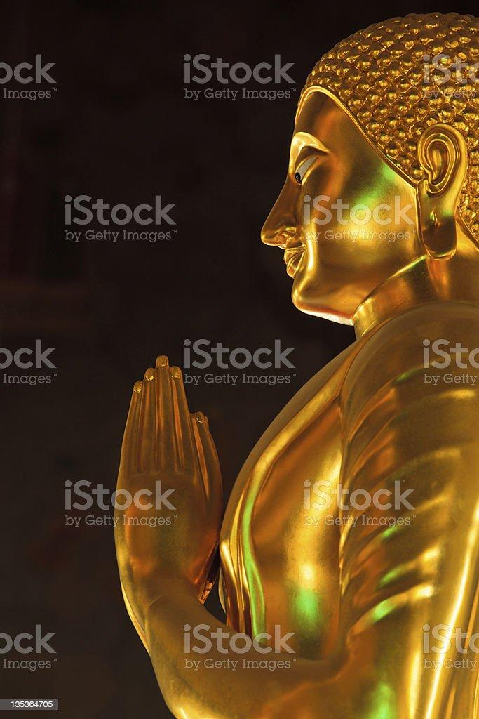Buddha in Profile stock photo