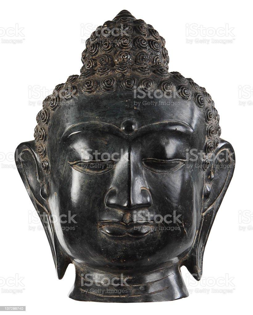 buddha mask stock photo
