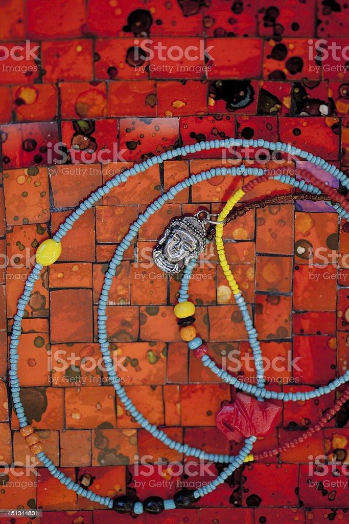 Buddha Necklace royalty-free stock photo