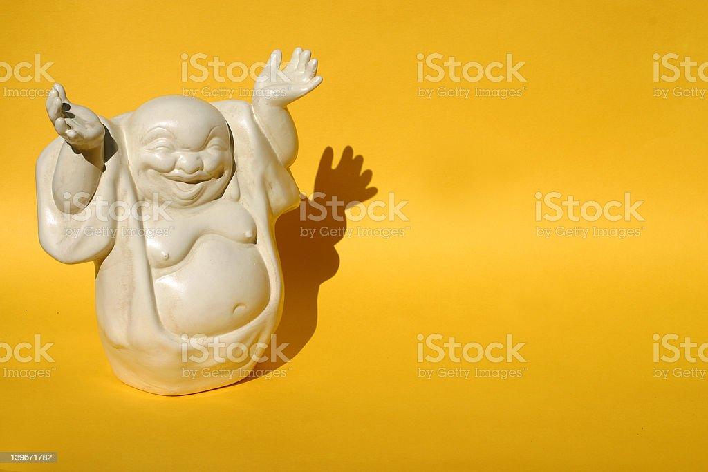 Buddha of Happiness stock photo