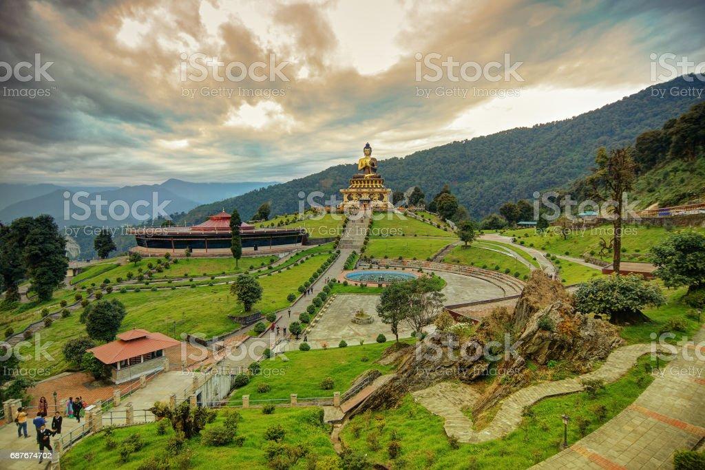 Buddha Park, Rabangla, Sikkim stock photo