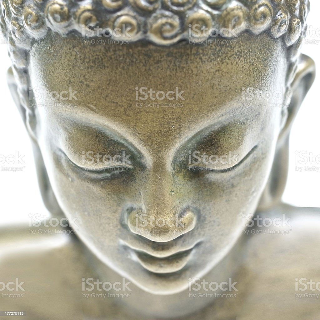 Buddha portrait stock photo