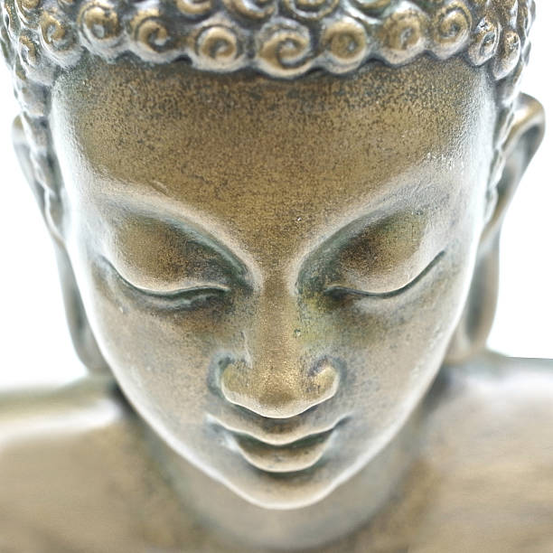 buddha portrait - buddha stock photos and pictures