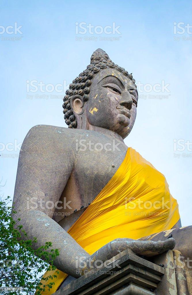 Buddha sky 2 royalty-free stock photo