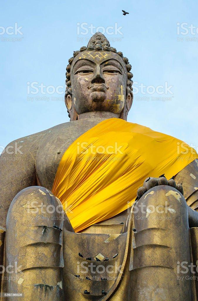 Buddha sky 4 foto de stock libre de derechos