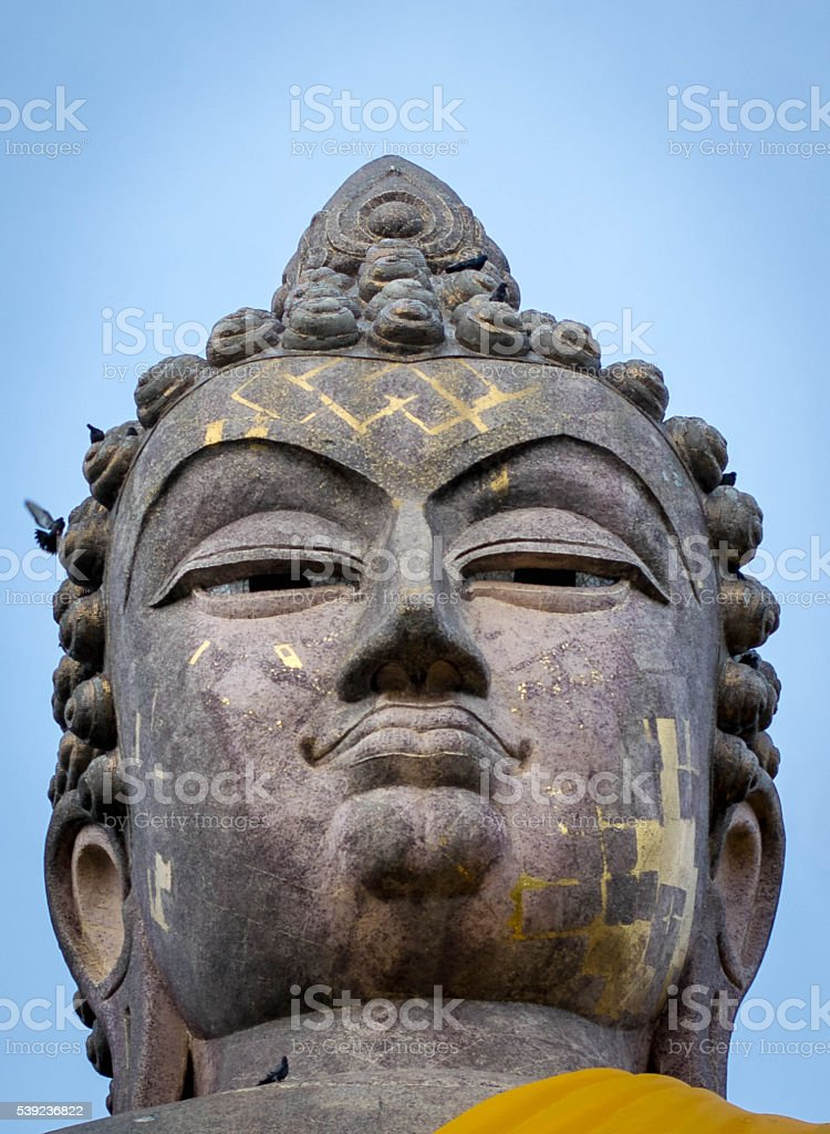 Buddha sky 6 foto de stock libre de derechos