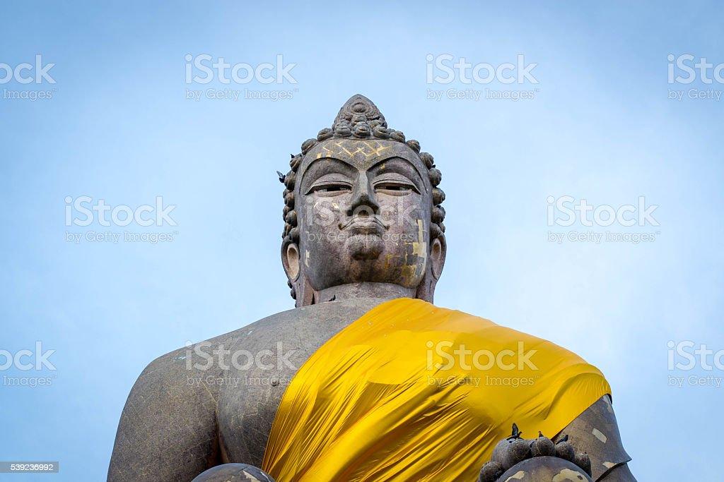 Buddha sky 6 royalty-free stock photo