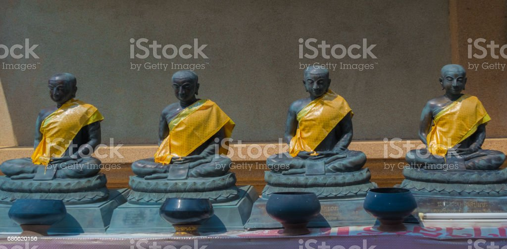 Buddha statue Ancient. royalty-free stock photo